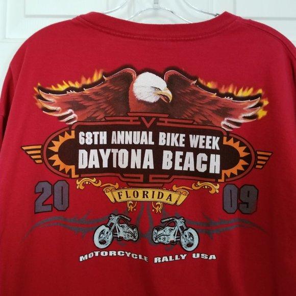 68th Bike Week Daytona Beach Bike Rally Tee Shirt